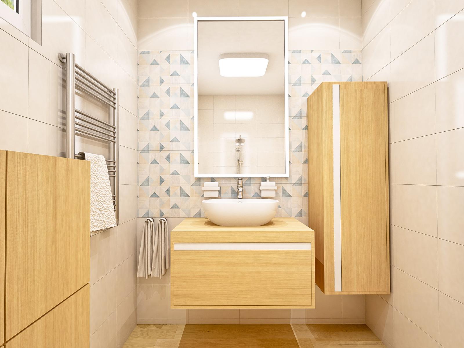 Kúpeľňa malá s oddeleným WC BA II